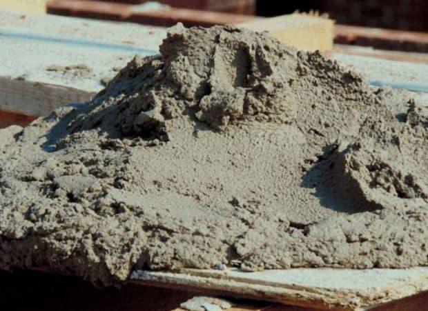 Расход пескобетона (пескосмеси)