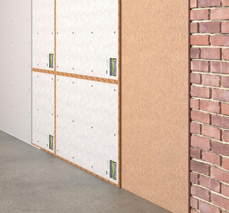 Бескаркасная шумоизоляция стен